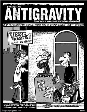 Antigravity Magazine Cover