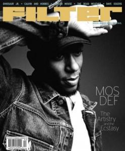 Filter Magazine Mos Def